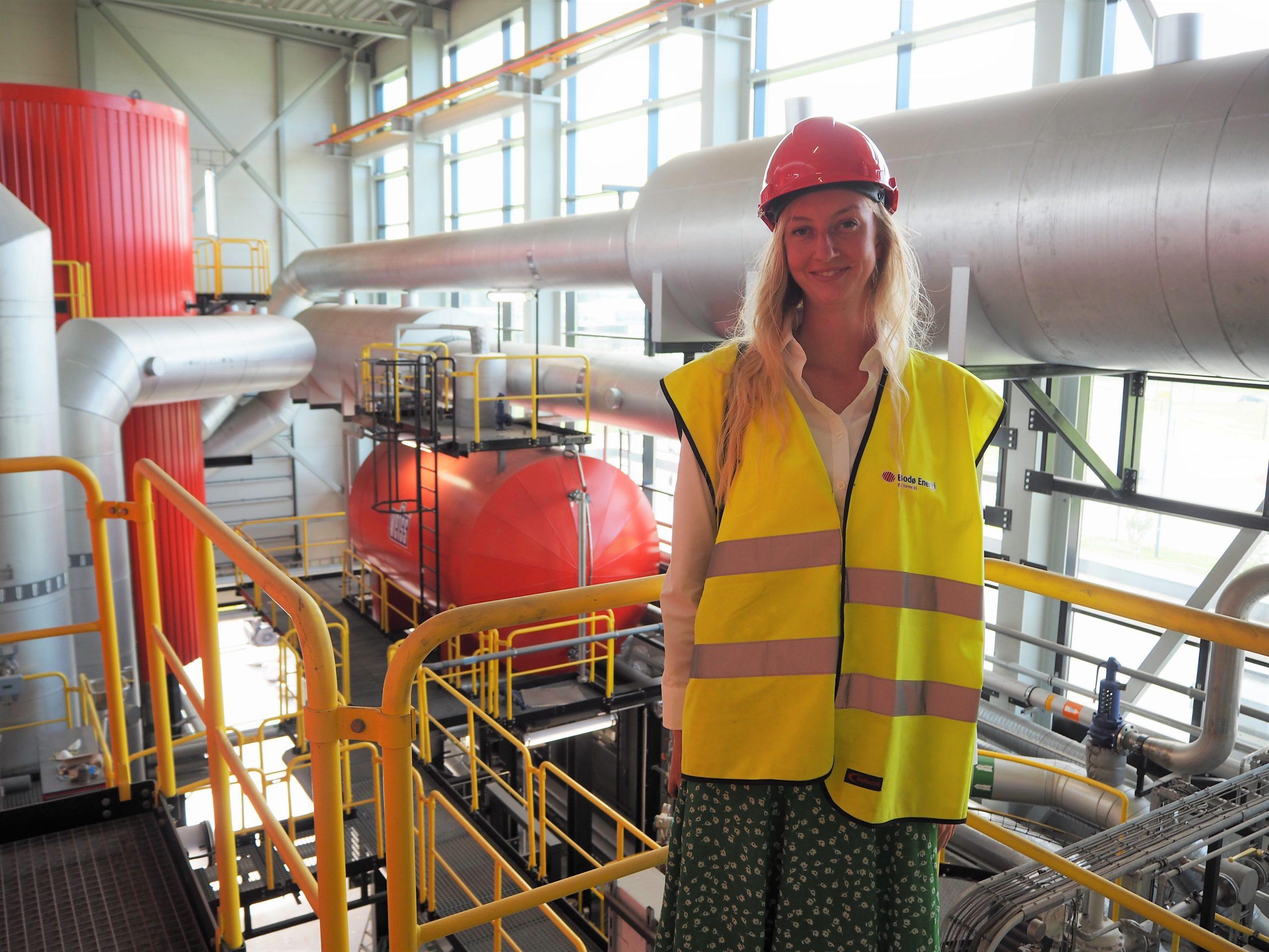 Eline Olafsrud, trainee i kull 14