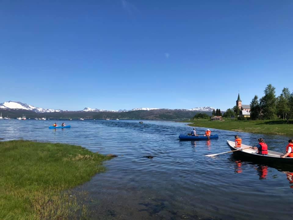 Røsvik er havets innfallsport til Sjunkhatten nasjonalpark